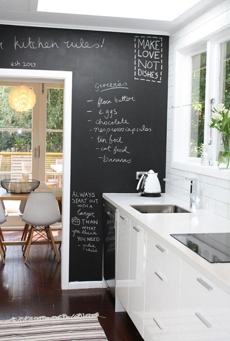 Idee per pittura lavagna in cucina n.05