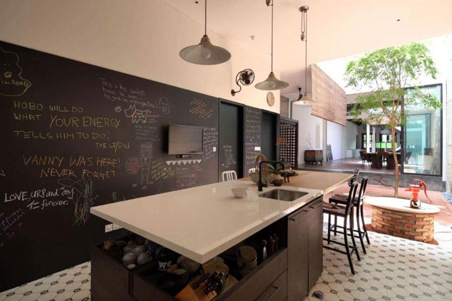 Idee per pittura lavagna in cucina n.09