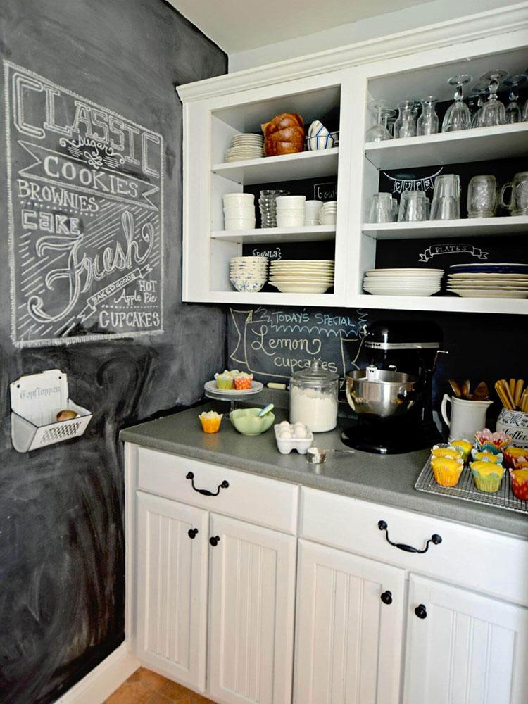 Idee per pittura lavagna in cucina n.14