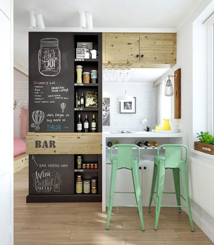 Idee per pittura lavagna in cucina n.15