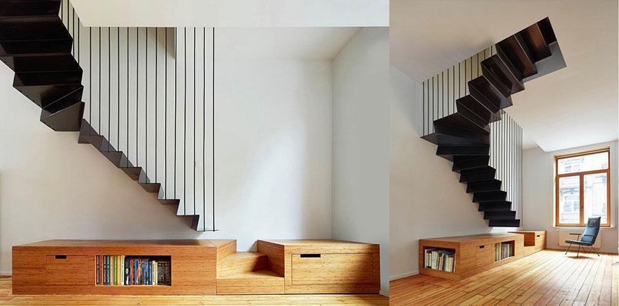 Progetto per scala interna di design n.02