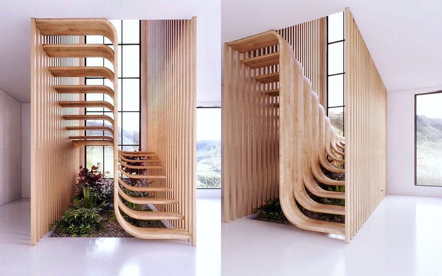 Progetto per scala interna di design n.03
