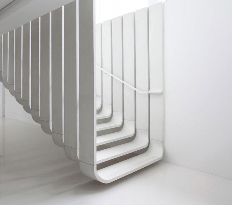 Progetto per scala interna di design n.04