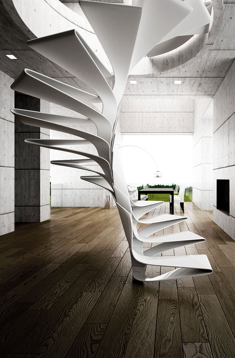 Progetto per scala interna di design n.05