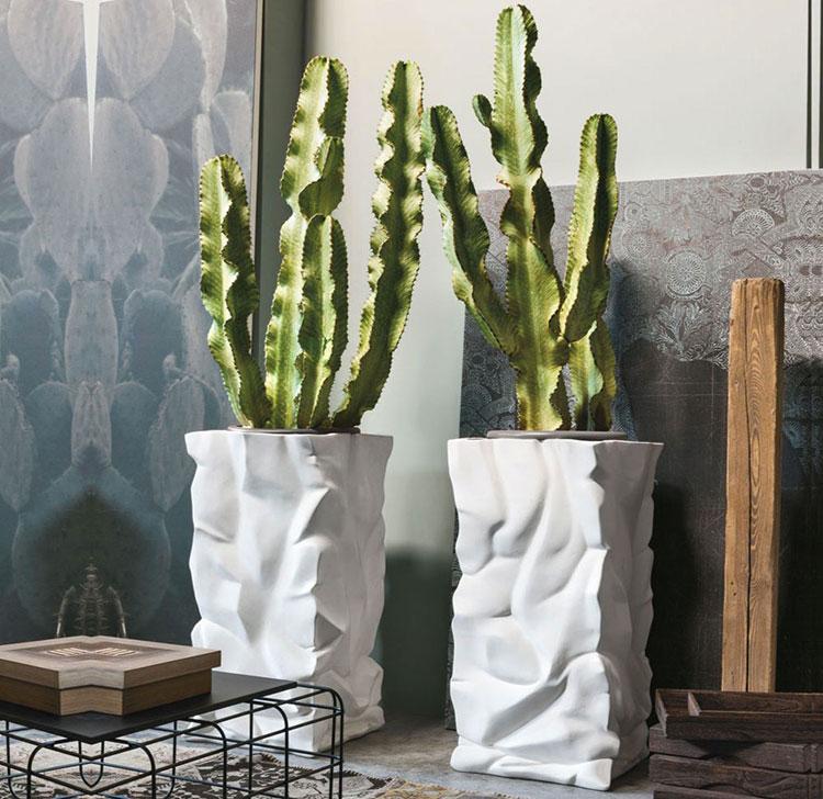 Modello di vaso per piante da interno di design n.03