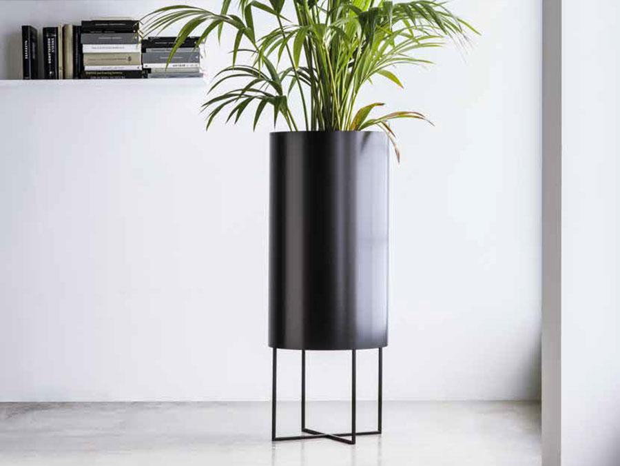 Modello di vaso per piante da interno di design n.04