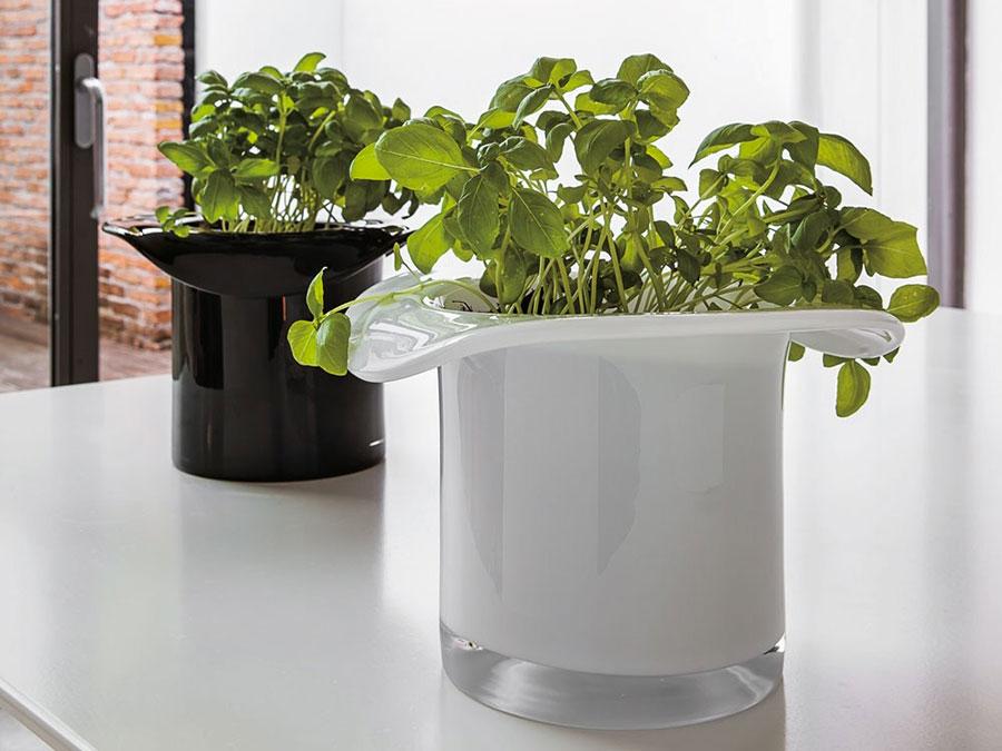 Modello di vaso per piante da interno di design n.05