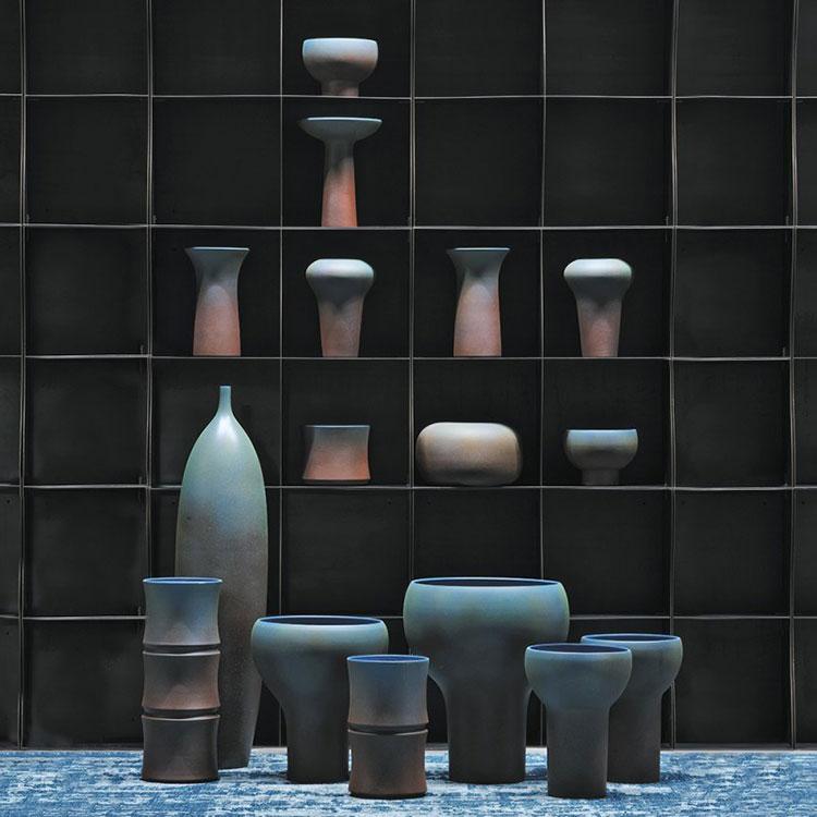 Modello di vaso per piante da interno di design n.06