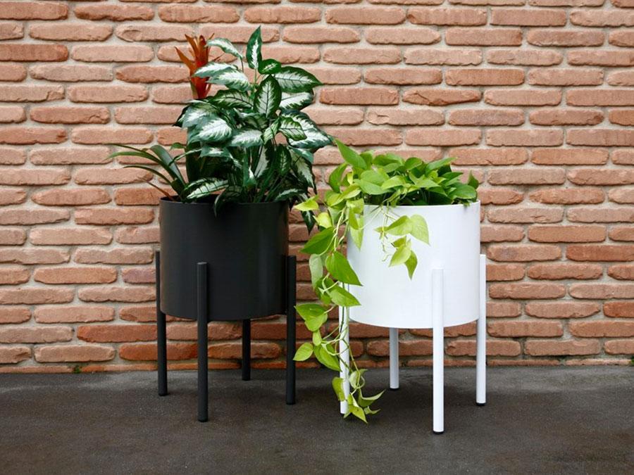 Modello di vaso per piante da interno di design n.07