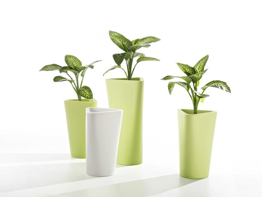 Modello di vaso per piante da interno di design n.08