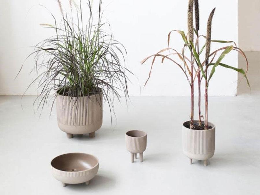 Modello di vaso per piante da interno di design n.09