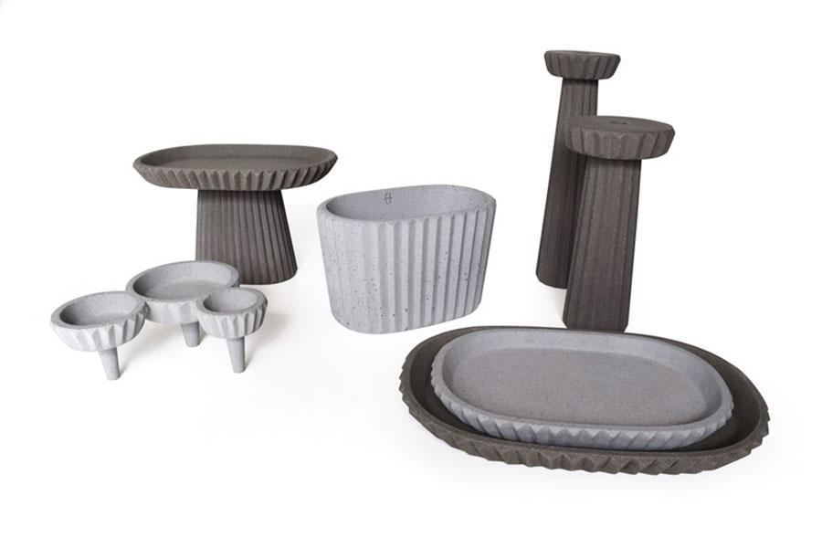 Modello di vaso per piante da interno di design n.10