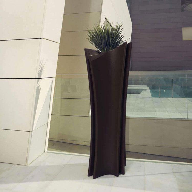 Modello di vaso per piante da interno di design n.11