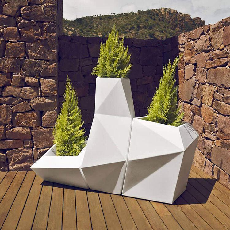 Modello di vaso per piante da interno di design n.14