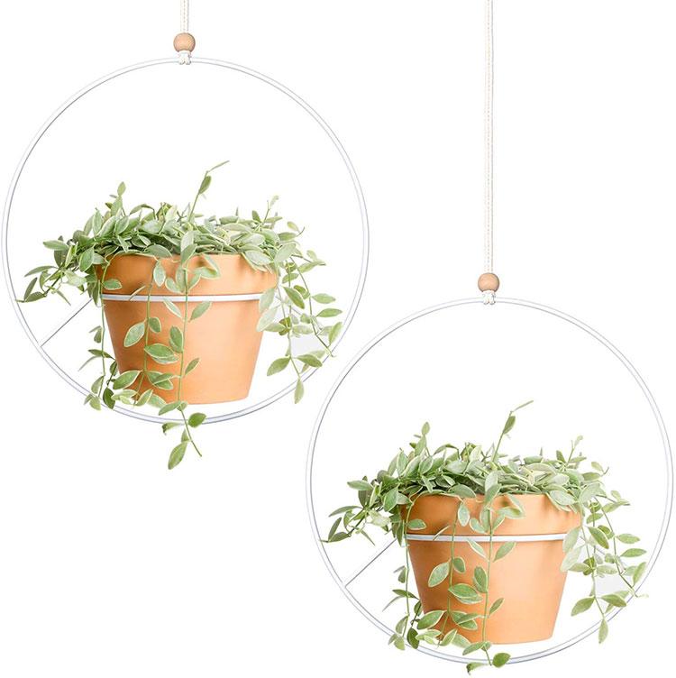 Modello di vaso sospeso per piante da interno n.01