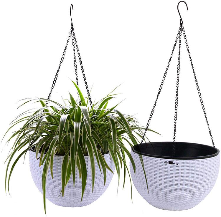 Modello di vaso sospeso per piante da interno n.02