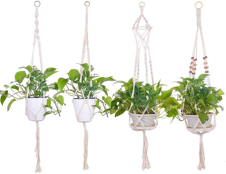 Modello di vaso sospeso per piante da interno n.03