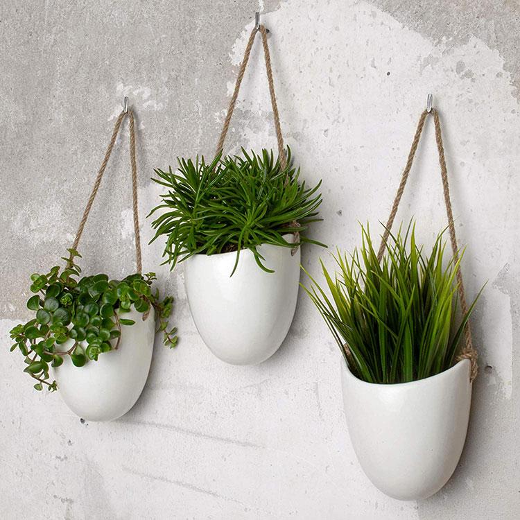 Modello di vaso sospeso per piante da interno n.04