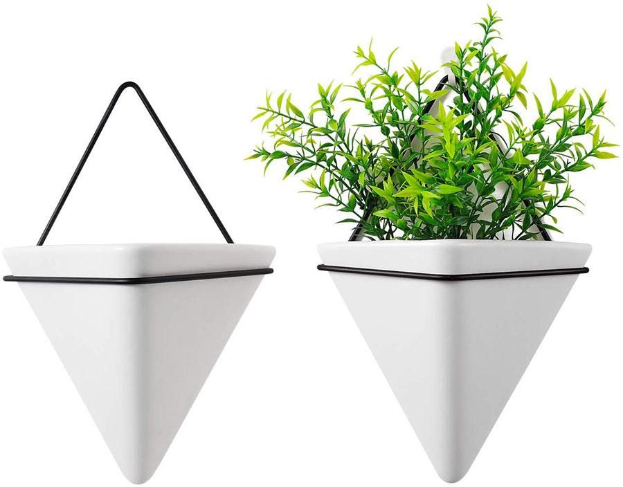 Modello di vaso sospeso per piante da interno n.05