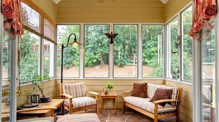 Idee per arredare una veranda n.11