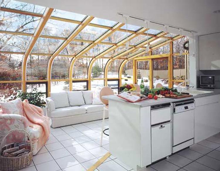 Idee per arredare una veranda n.17