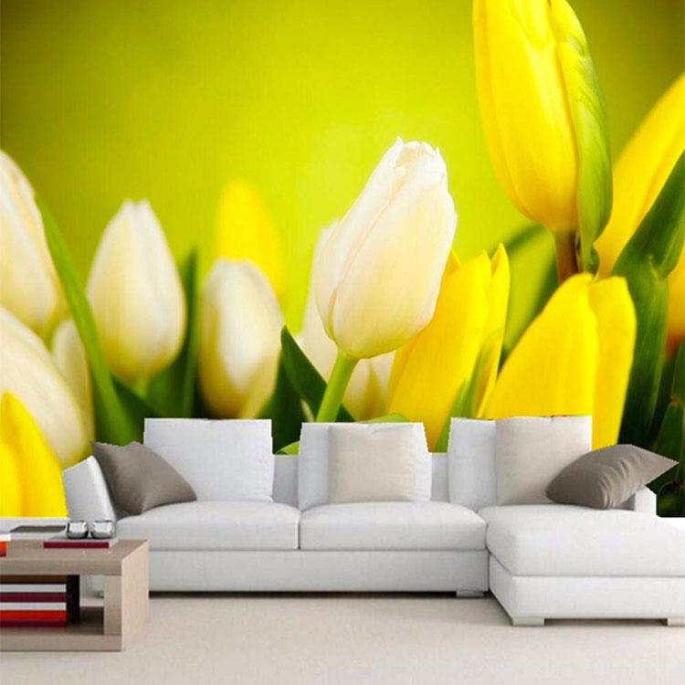 modello di carta da parati floreale 3d n.04