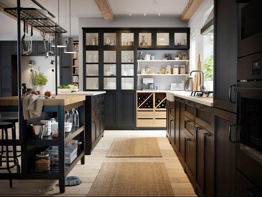 Modello di cucina industrial Ikea n.01