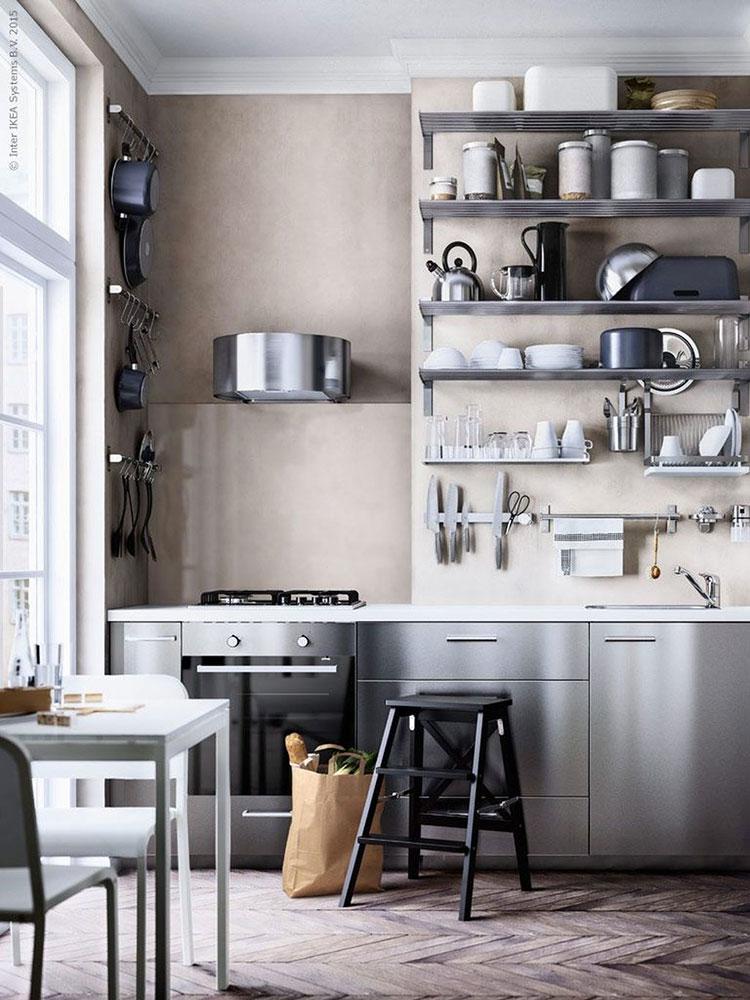 Modello di cucina industrial Ikea n.04