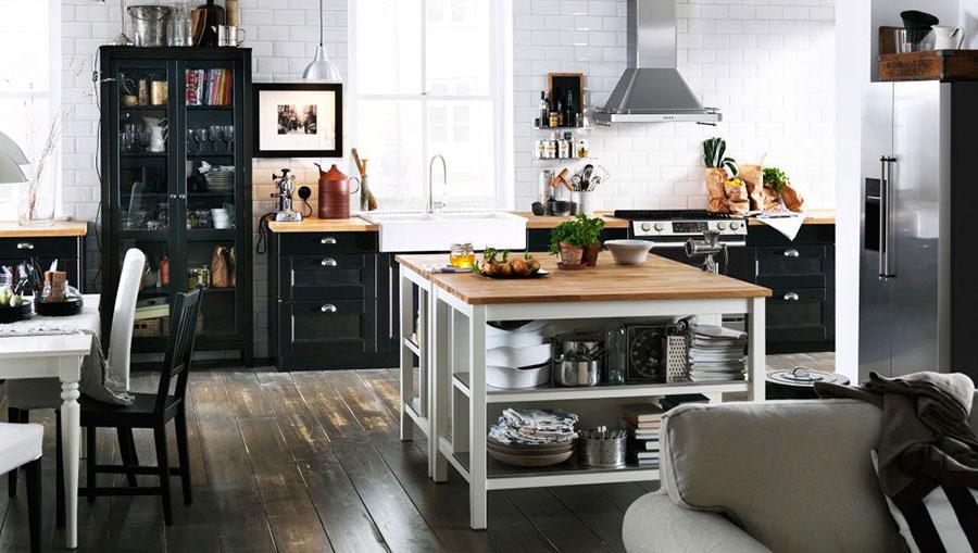Modello di cucina industrial Ikea n.05