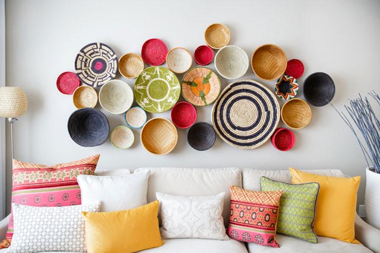 100 idee per decorazioni di pareti fai da te for Idee decorazioni pareti