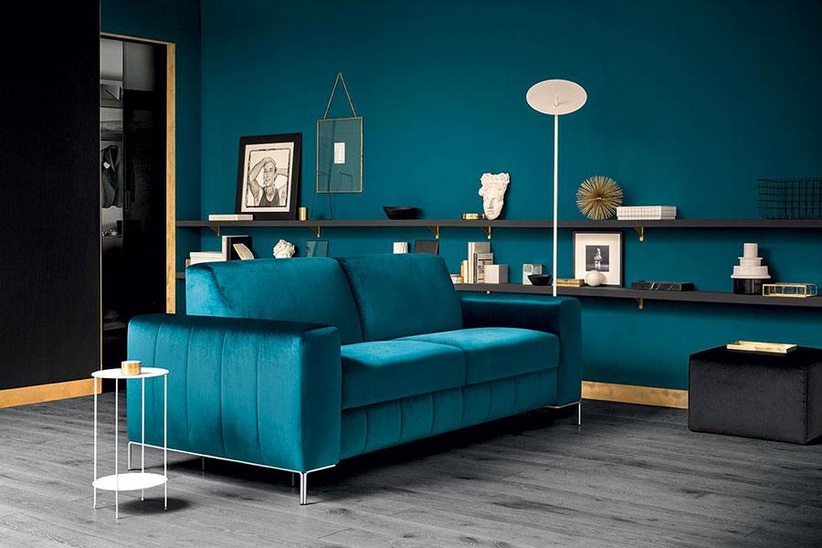 Idee per divano color ottanio n.2