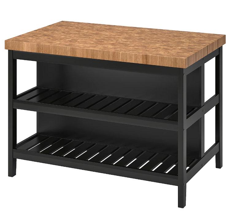 Modello di isola per cucina industrial Ikea n.02