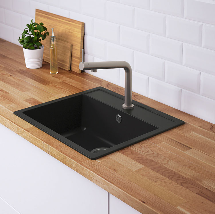 Modello di lavello e miscelatore per cucina industrial Ikea n.06