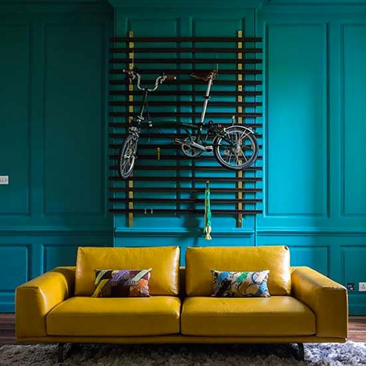Idee per pareti color ottanio n.1