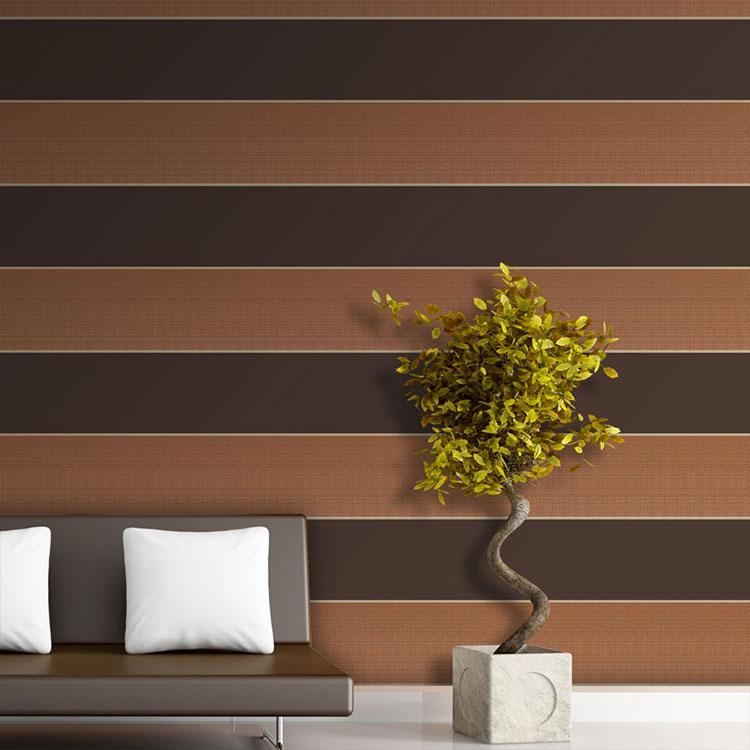 Idee per pittura di pareti a righe orizzontali n.06
