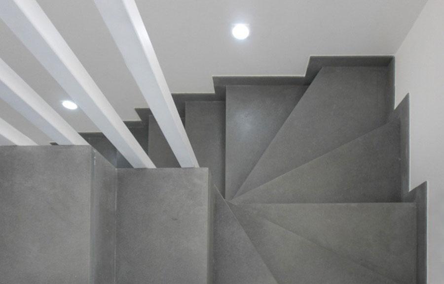 Idee per rivestimenti per scale interne in pietra n.03