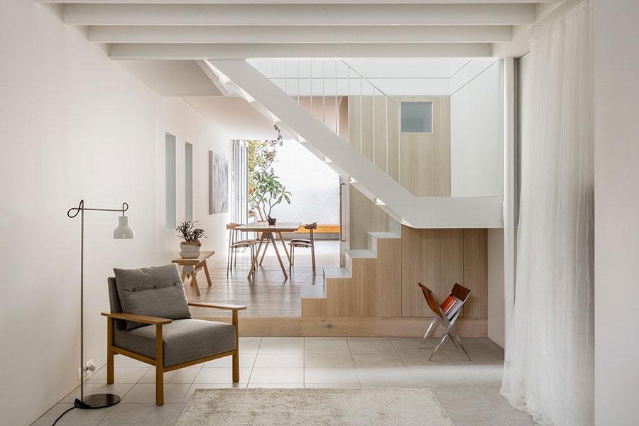 Modello di scale interne salvaspazio n.16
