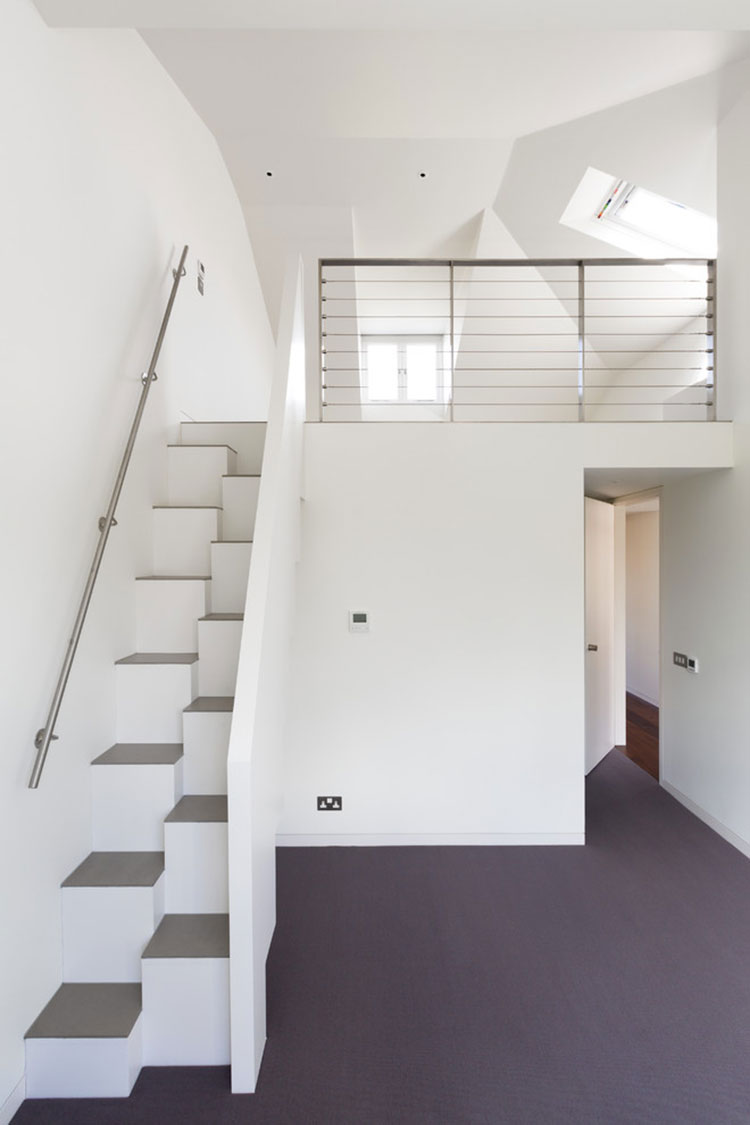 Modello di scale interne salvaspazio n.22