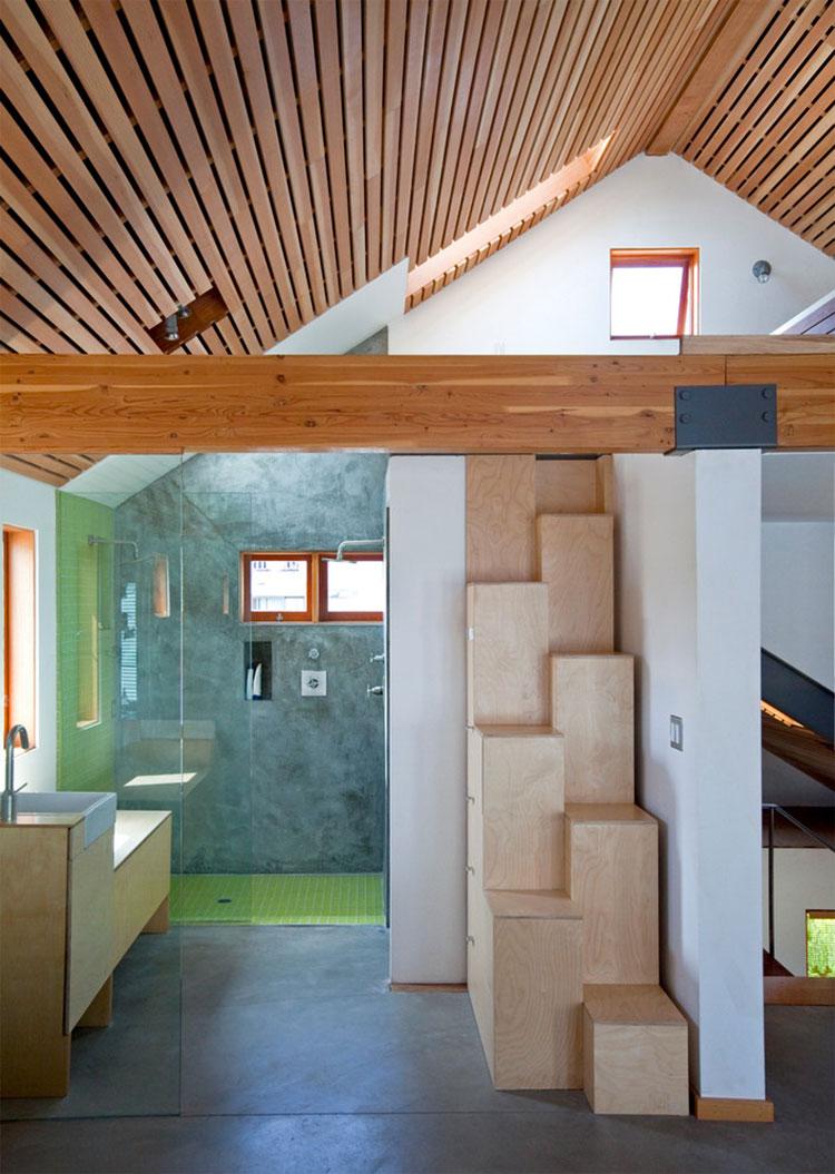 Modello di scale interne salvaspazio n.23