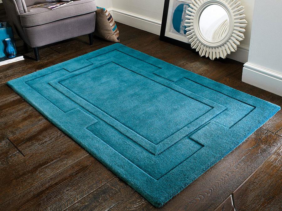 Idee per tappeti color ottanio n.1