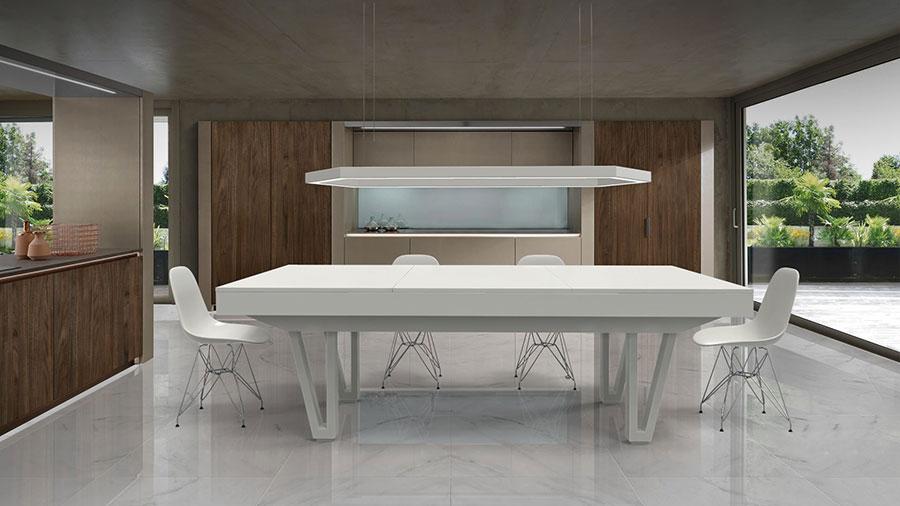 Modello di tavolo da biliardo trasformabile n.04