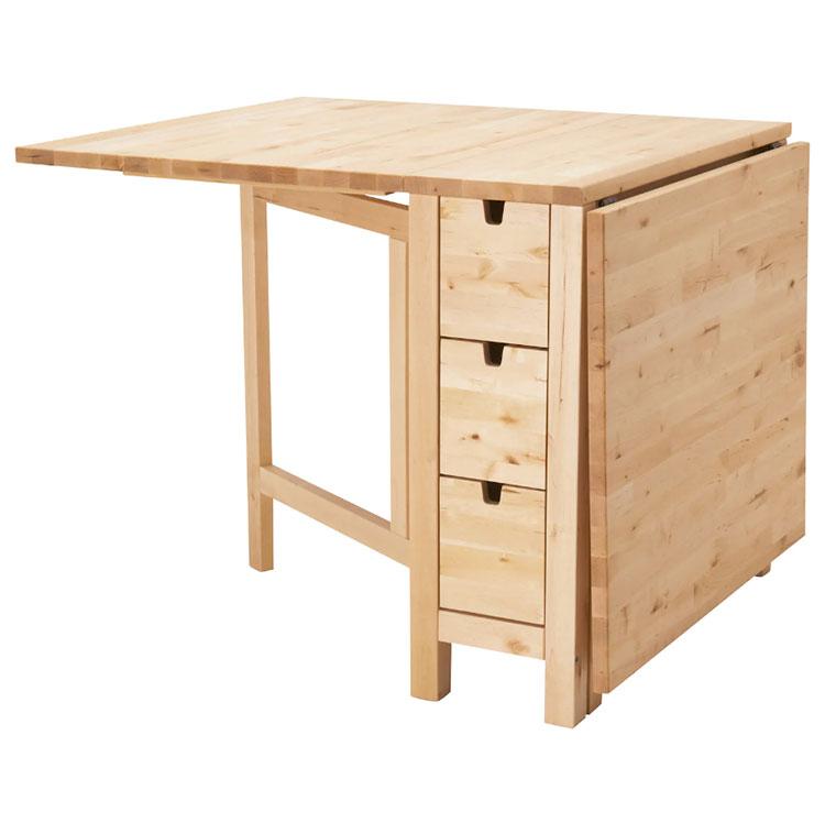Tavolo trasformabile di Ikea n.01
