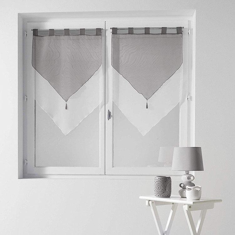 Modello di tenda a vetro moderna n.06
