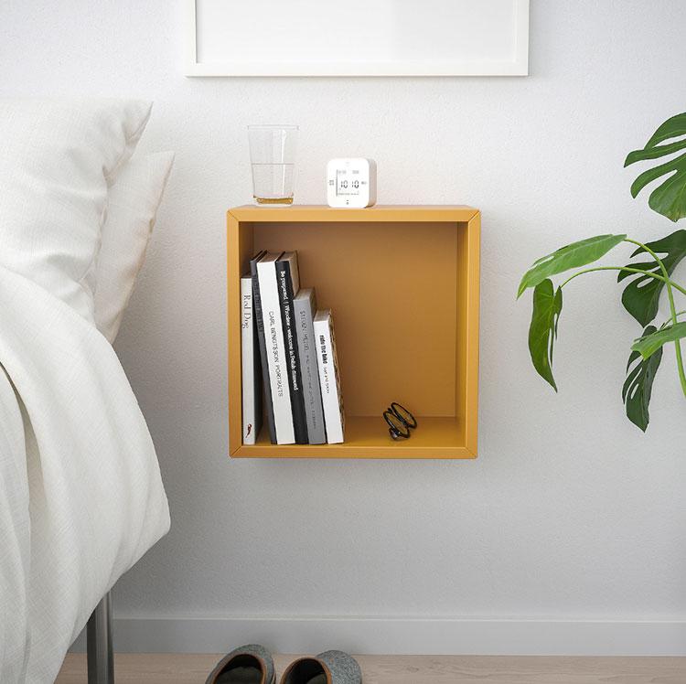 Modello di Comodino sospeso di Ikea n.01