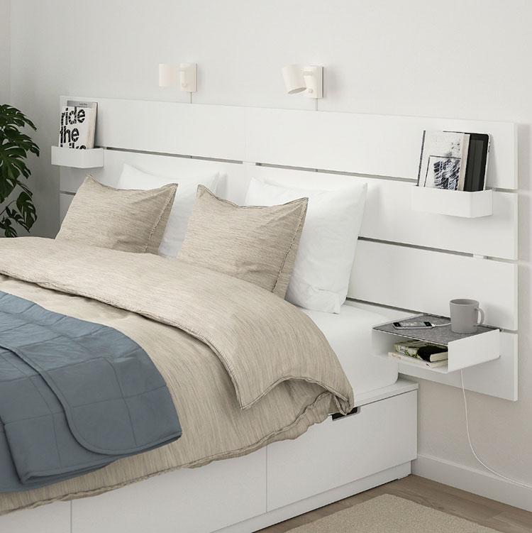 Modello di Comodino sospeso di Ikea n.05