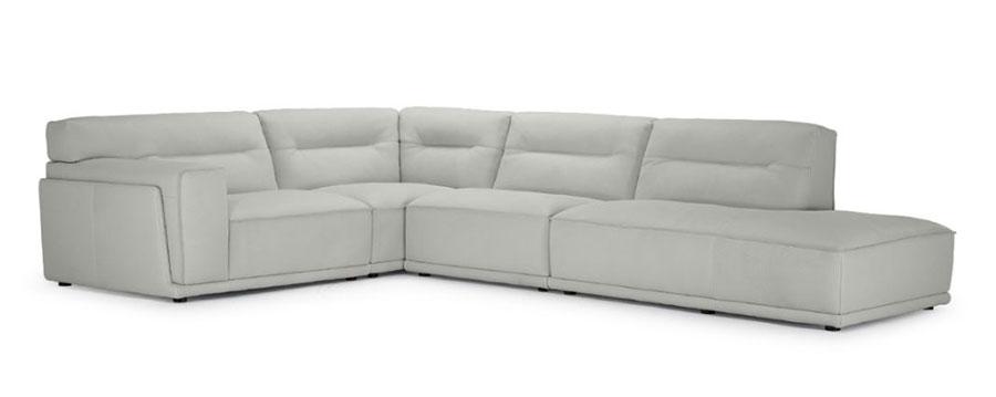 Modello di divano con angolo tondo n.14