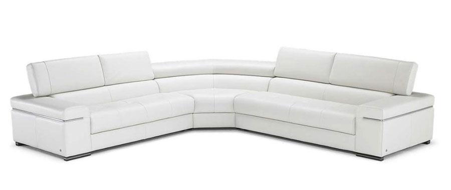Modello di divano con angolo tondo n.15