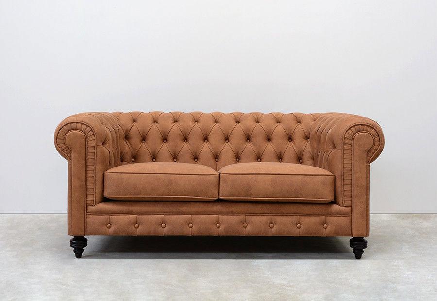 Modello di divano Divano Chesterfield a due posti n.02