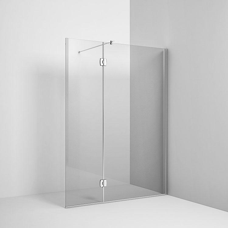 Modello di doccia walk-in con anta mobile n.05
