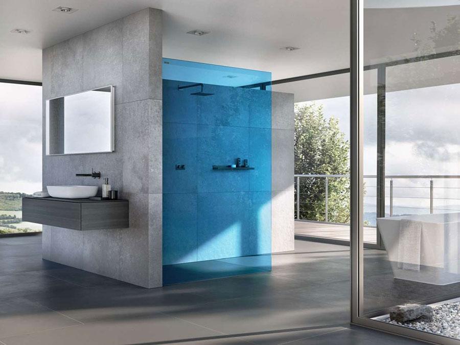 Modello di doccia walk-in a incasso n.07